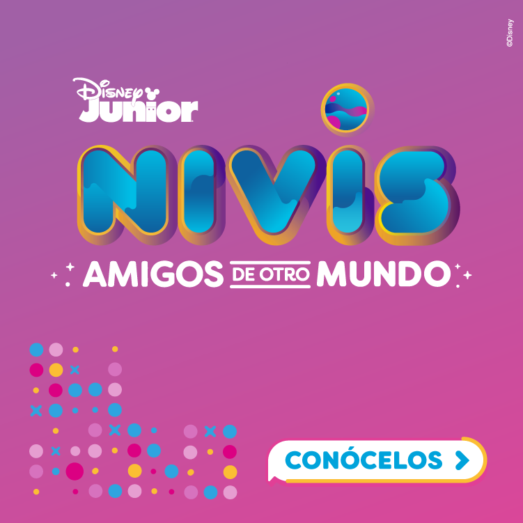 NIVIS AMIGOS DE OTRO MUNDO DISNEY JUNIOR LATINOAMERICA